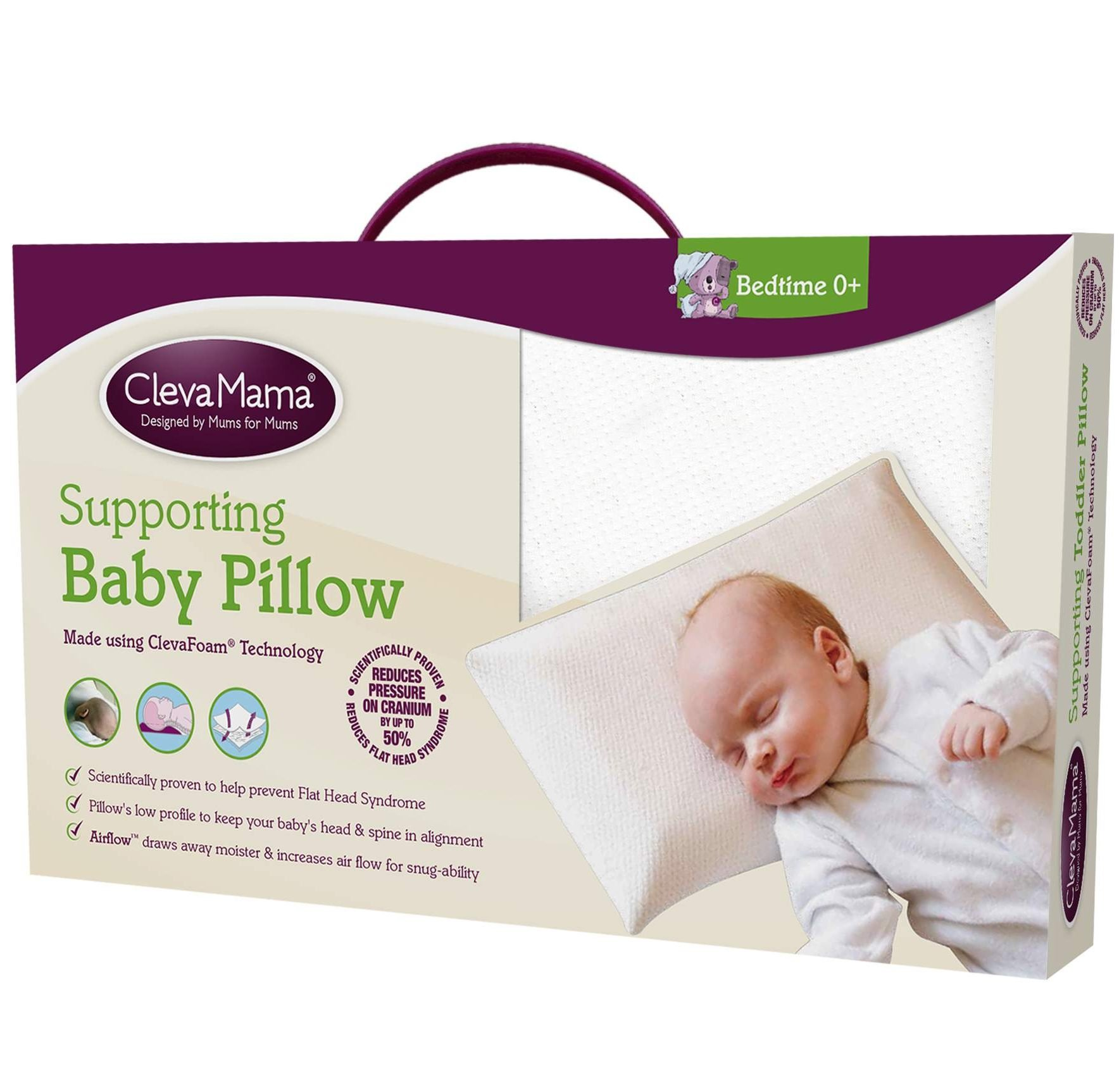 ClevaMama Cleva Foam Baby Pillow
