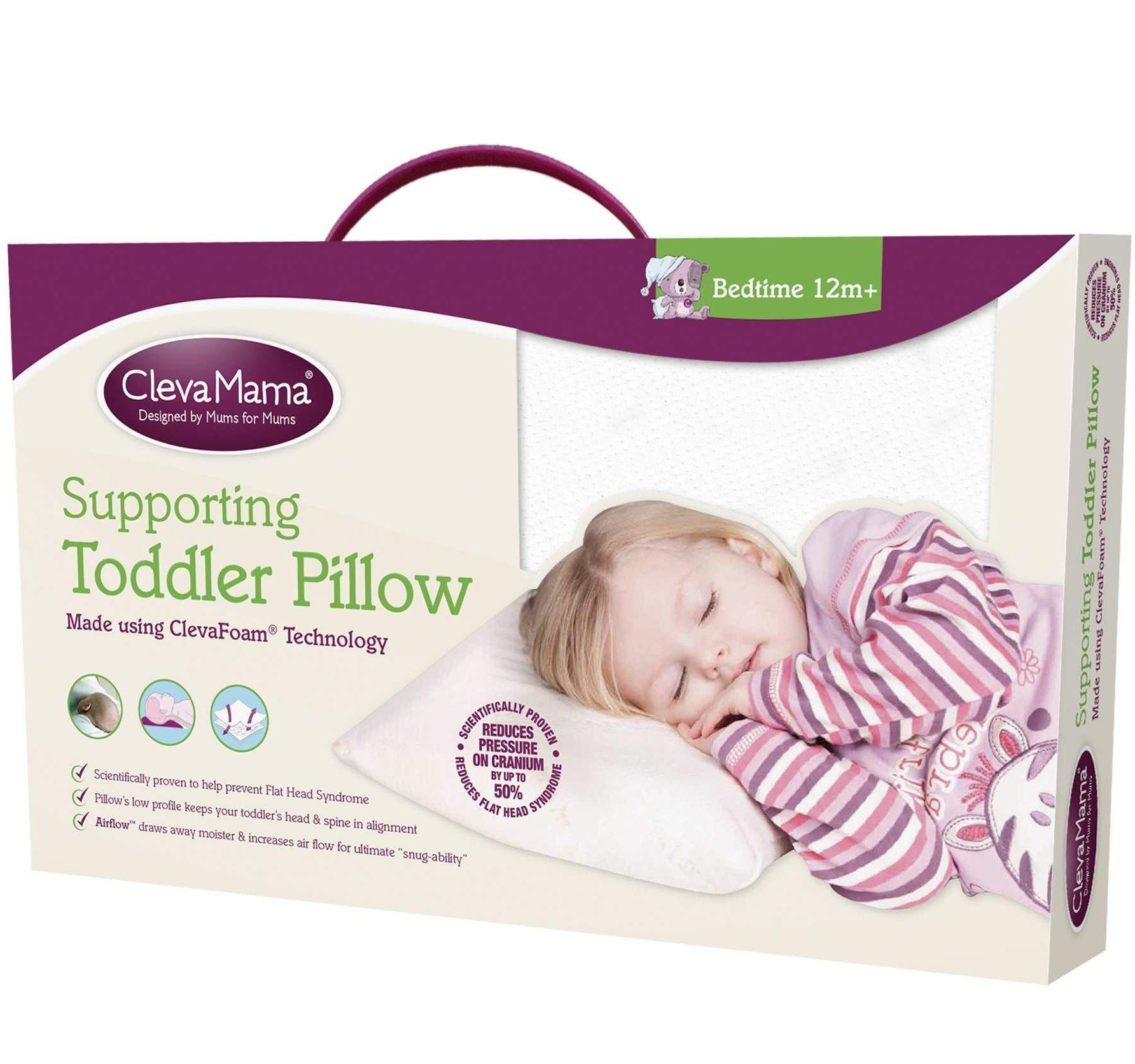 ClevaMama Cleva Foam Toddler Pillow