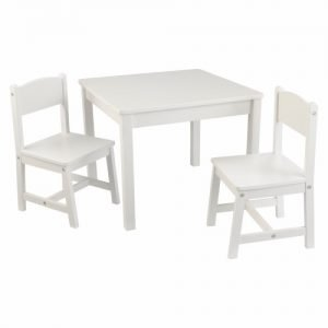 Kidkraft Aspen Table & 2 Chairs Natural