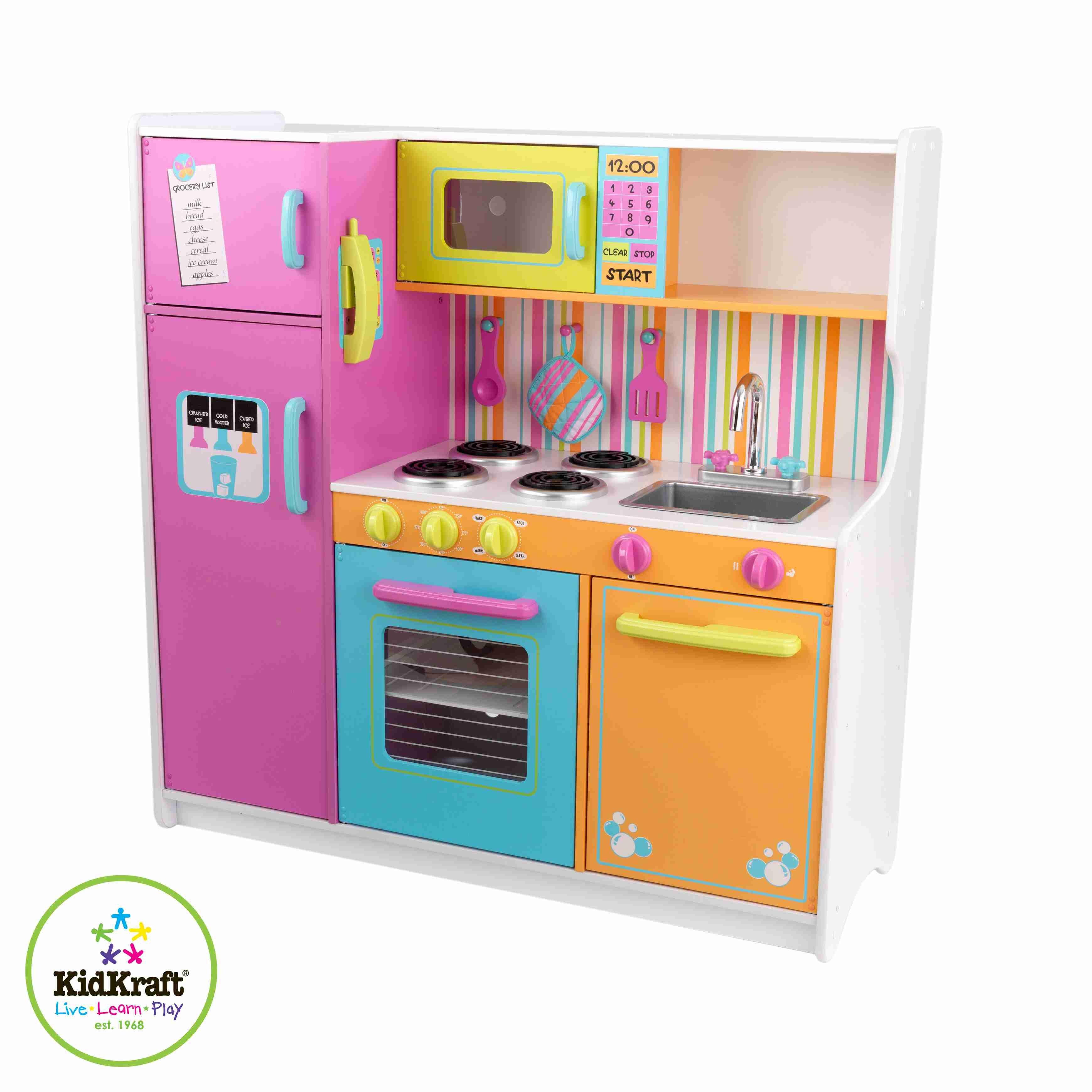 Merveilleux Kidkraft Deluxe Big U0026 Bright Kitchen