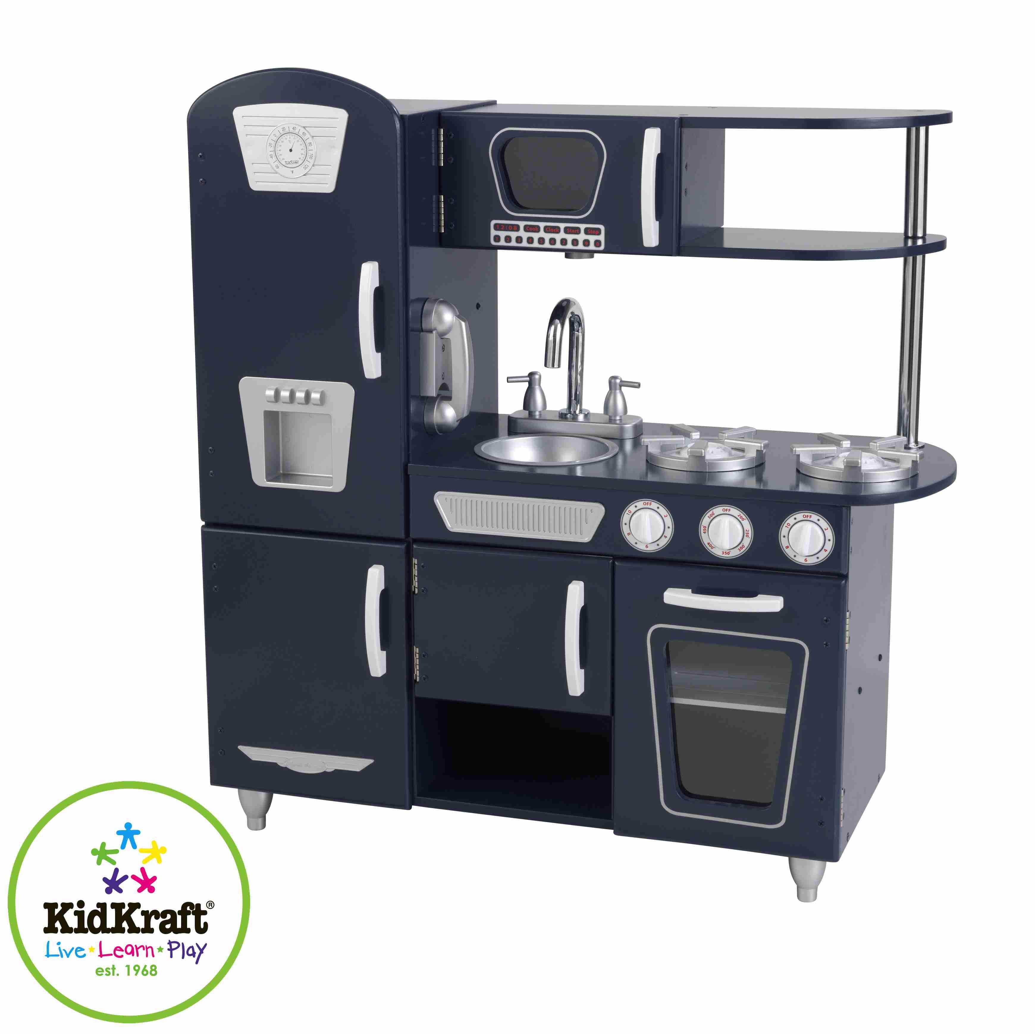 Kidkraft Vintage Navy Kitchen