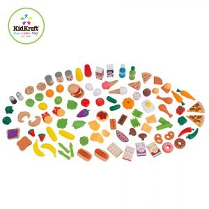 Kidkraft Deluxe Tasty Treat Pretend Food Playset