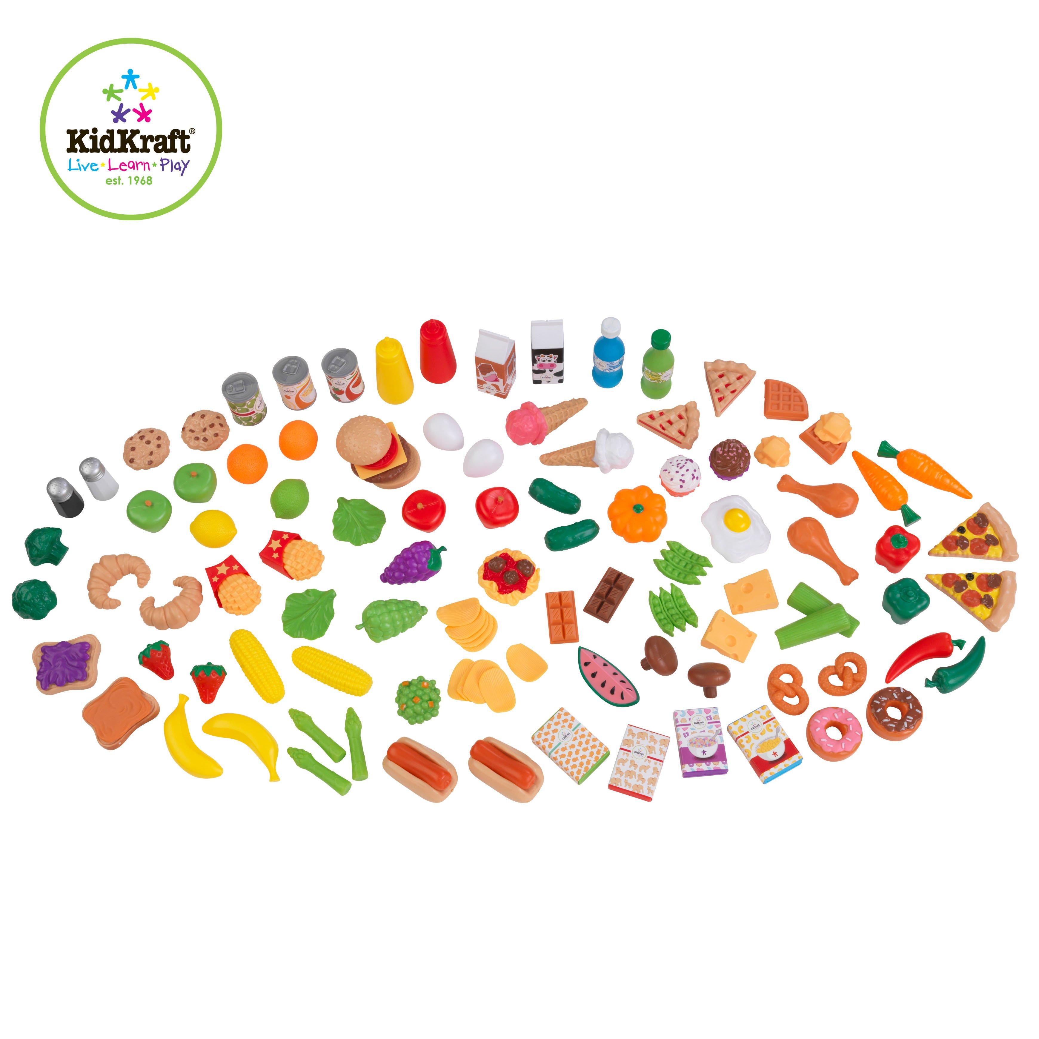 Kidkraft Deluxe Tasty Treat Pretend Food Playset