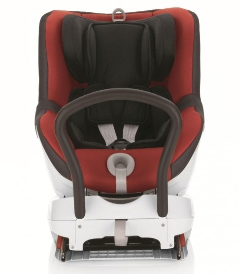 Britax Dualfix Car Seat - Chili Pepper