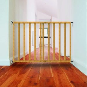 Babylo Wooden Extending Safety Gate