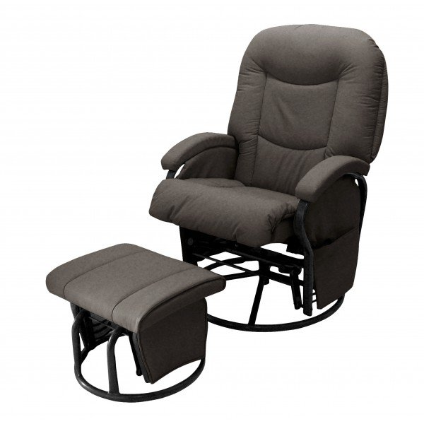 Babylo Cloud Nine Nursing Chair And Footstool Pitter