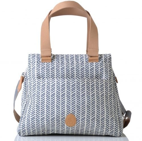 Pacapod Richmond Changing Bag - Herringbone Navy