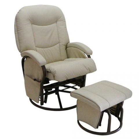 Babylo Cloud Nine Nursing Chair and Footstool