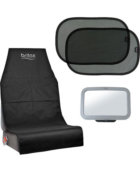 Britax Car Seat Bundle - Protect, Shade and See