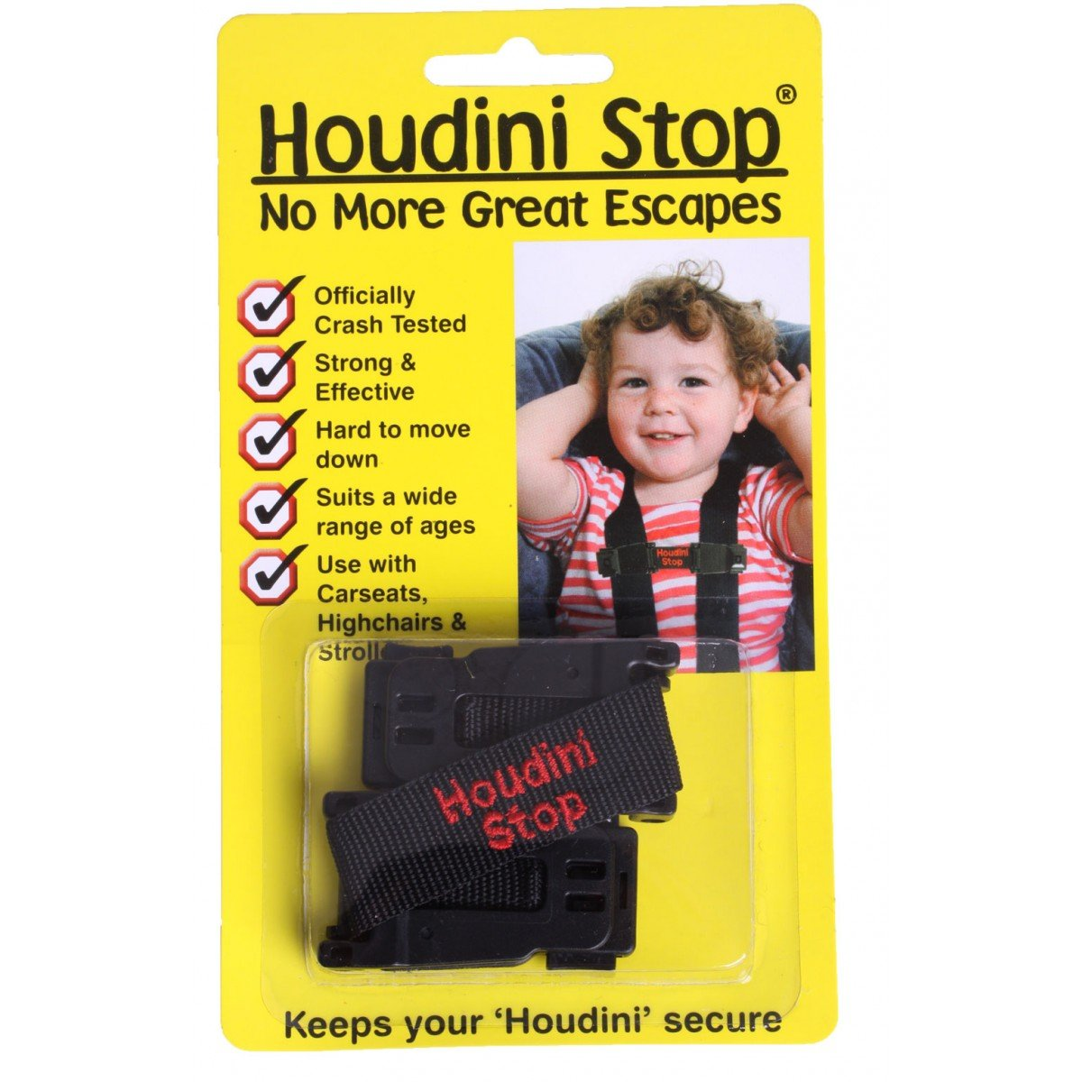 houdini stop  Houdini Stop Car Seat Chest Straps - Pitter Patter Toys & Nursery ...