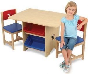 Kidkraft Star Table & 2 Chairs Set Primary