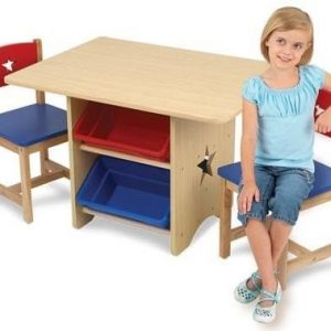 Kidkraft Star Table 2 Chairs Set Primary