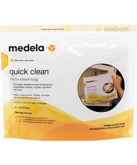 Medela Microwave Steam Bags