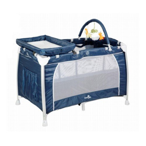 Babylo Siesta 3 in 1Travel Cot Navy