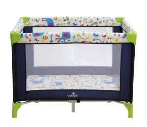Babylo Alpha Travel cot Chessington Bright