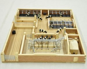 Millwood Crafts-Small Milking Parlour