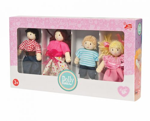 Le Toy Van family of 4 dolls