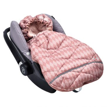 Lodger Mini Bunker Car Seat Footmuff-Plush