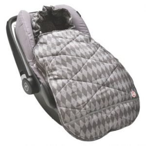 Lodger Mini Bunker Car Seat Footmuff-Coal
