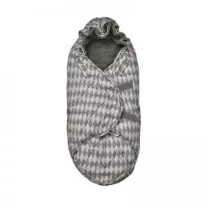 Lodger Bunker Footmuff Scandinavian Print – Coal