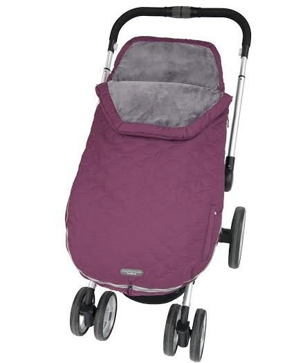 JJ Cole Urban Bundleme Toddler Footmuff - Plum Berry