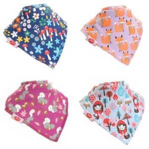 Zippy Baby Bandana Dribble Bib Woodland