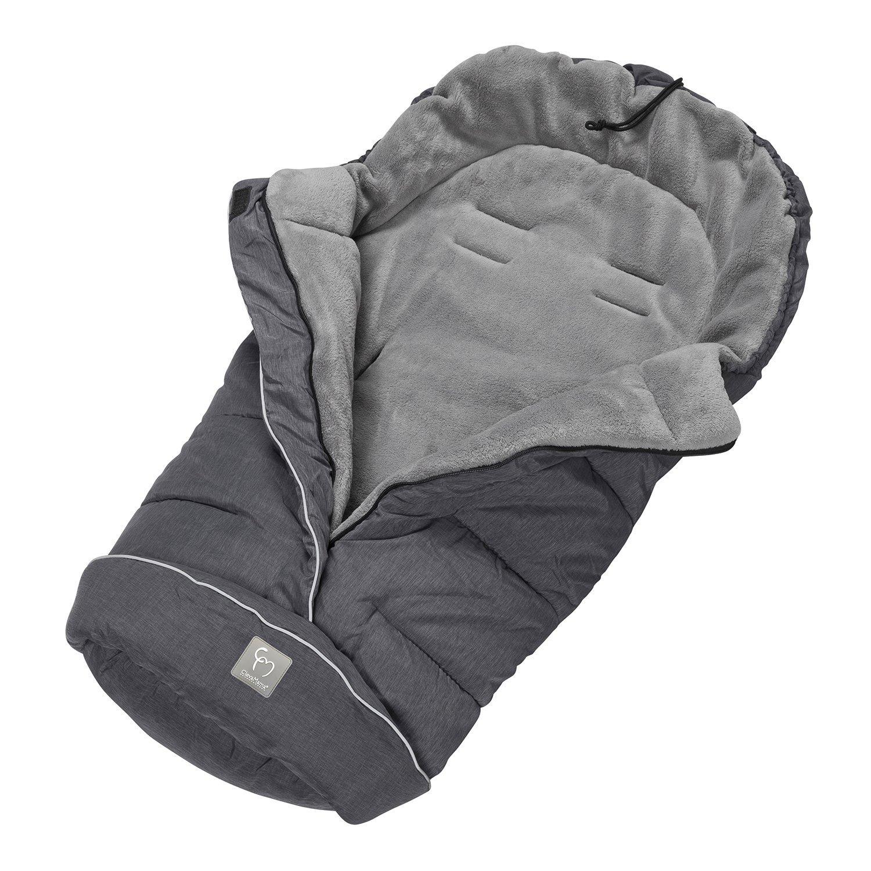ClevaMama Universal Footmuff - Grey