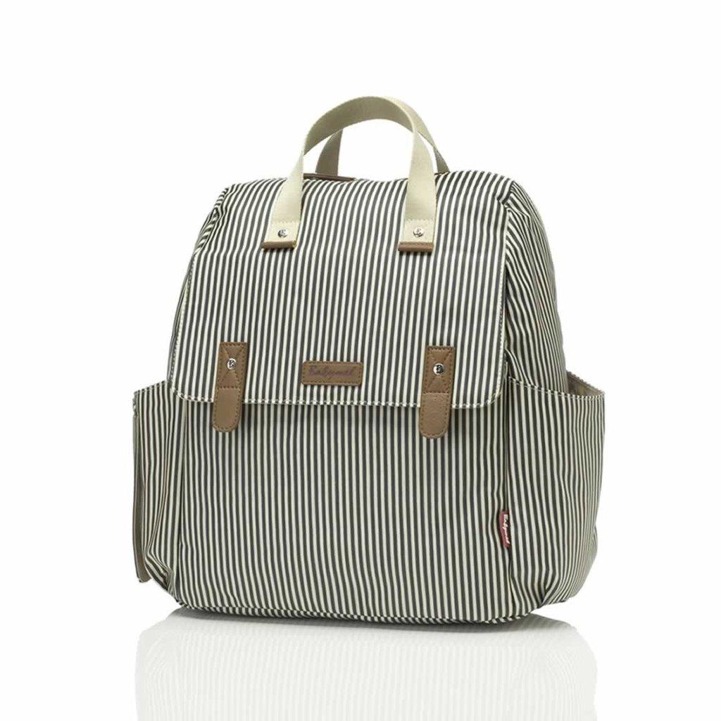 Babymel Robyn Navy Stripe Changing Bag