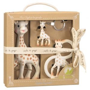 Sophie the Giraffe trio teether set