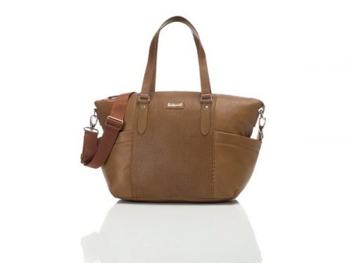 babymel anya baby changing bag tan