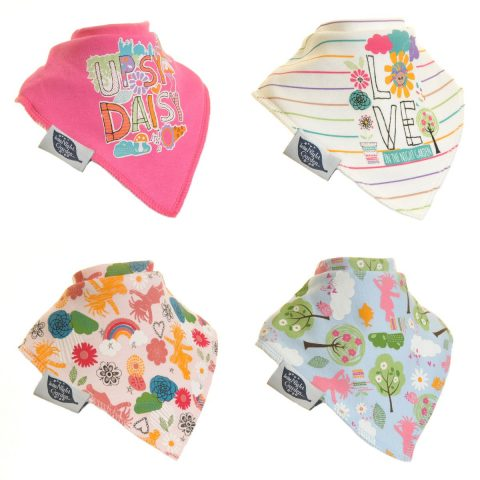 Zippy In the Night Garden Baby girl Bandana Dribble Bib