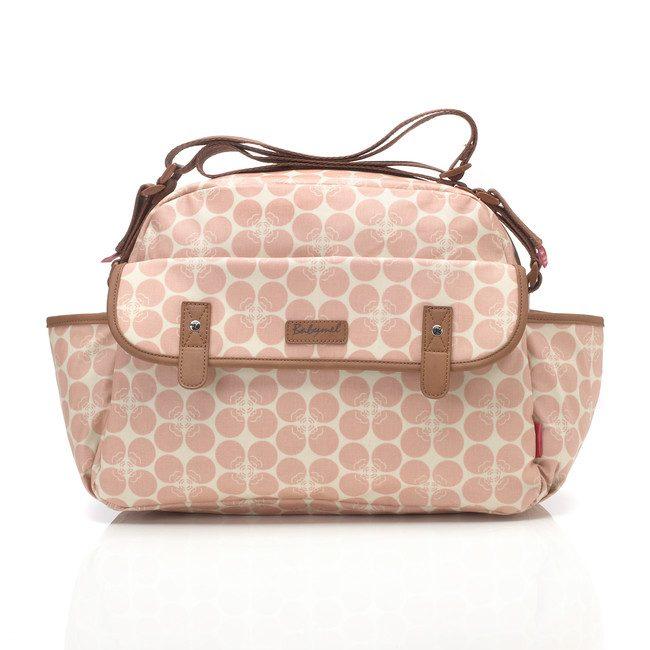 Babymel Molly Pink Floral Dot Changing Bag