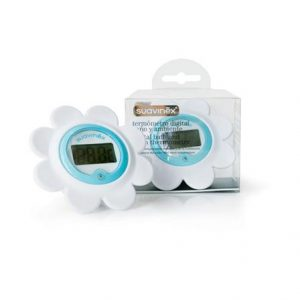 Suavinex Digital Bath & Room Thermometer Blue