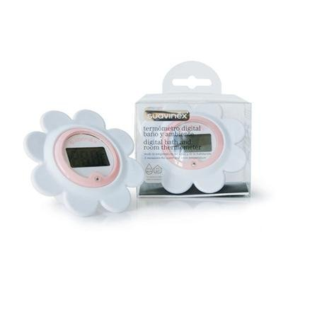 Suavinex Digital Bath & Room Thermometer Pink