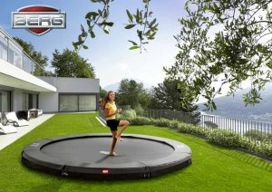 BERG INGROUND CHAMPION TRAMPOLINE GREY FT