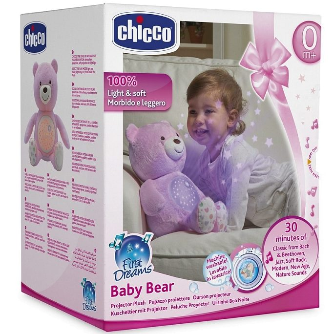 Chicco First Dreams Bear Pink