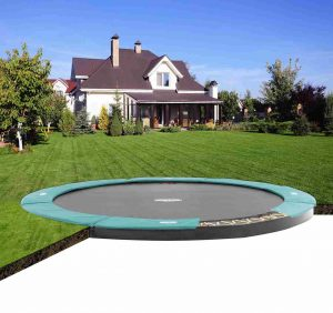 BERG Flat Ground Champion Trampoline- 14 ft