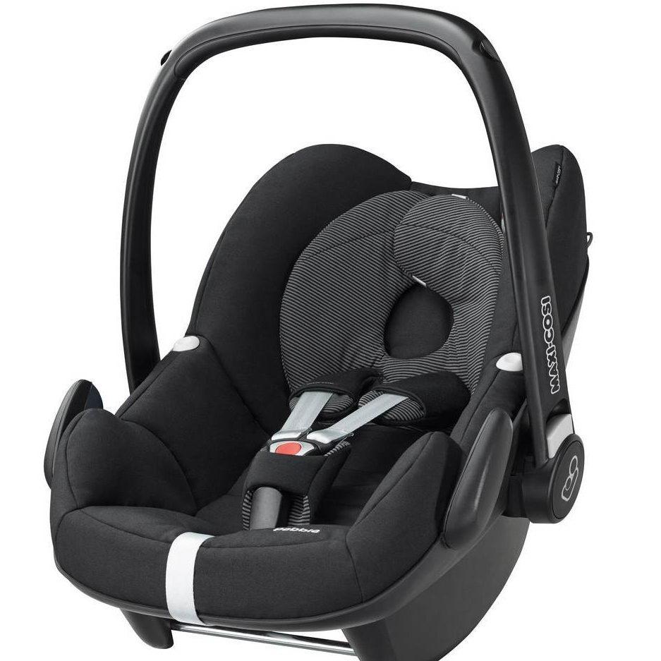 Maxi Cosi Pebble Infant Car Seat - Black Raven