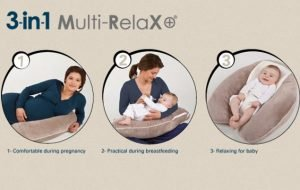 candide multi relax 3 in 1 nursing pillow