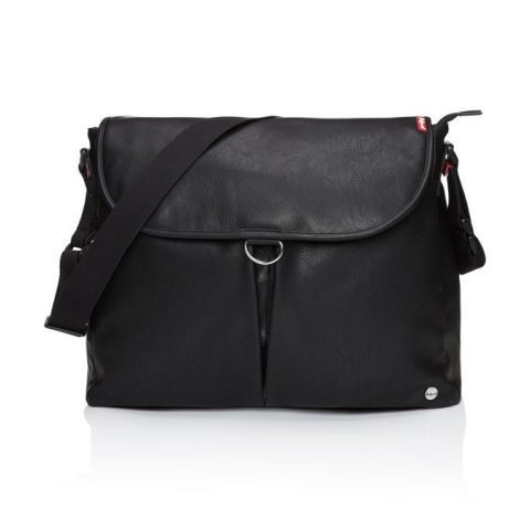 babymel ally satchel changing bag black