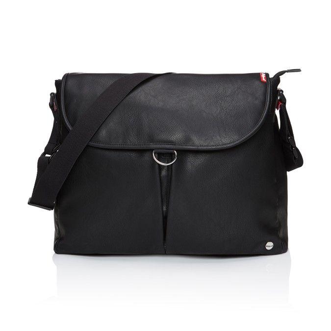 babymel ally satchel changing bag black