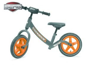 berg biky balance bike grey
