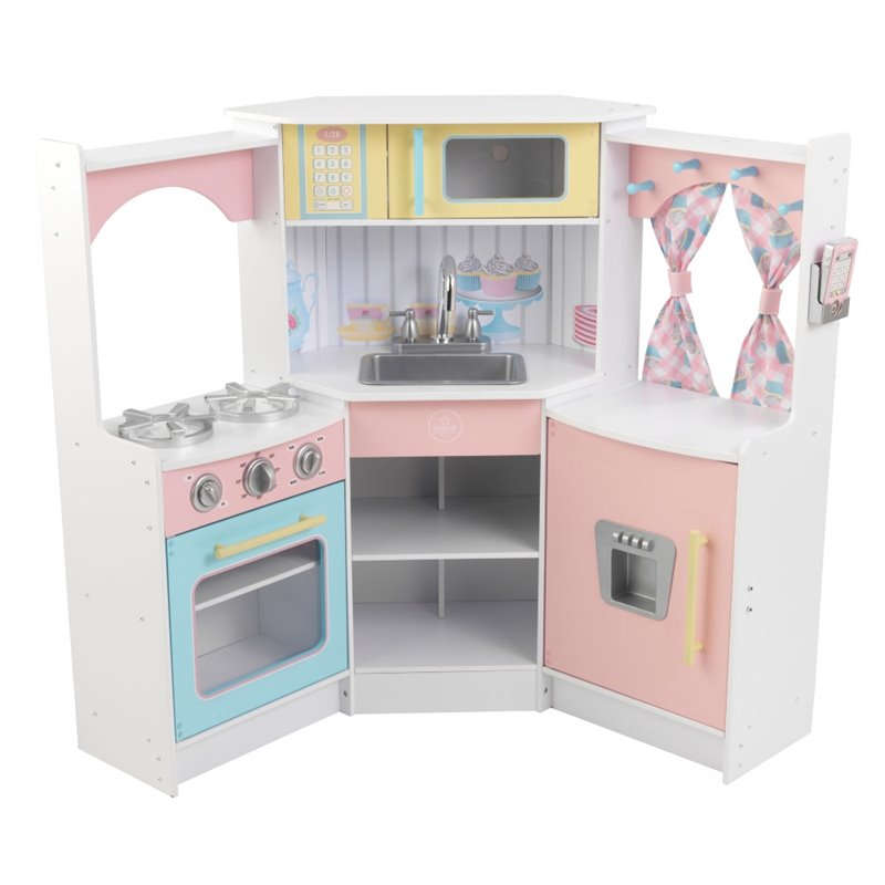 Kidkraft Delux Corner Play Kitchen Pitter Patter Toys Nursery
