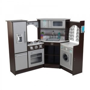 kidkraft ultimate corner kitchen with lights and sounds
