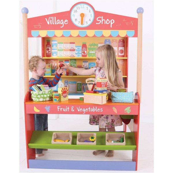 Bigjigs Village Shop