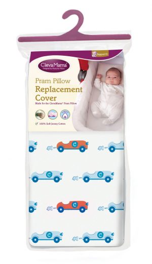 Clevamama Pram Pillow replacement cover