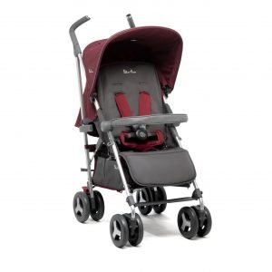 Silver Cross Reflex Stroller vintage red