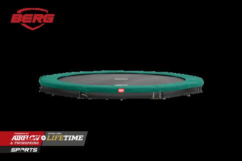 BERG InGround Champion Trampoline Green