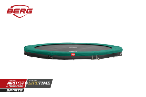 BERG InGround Champion Trampoline - Green