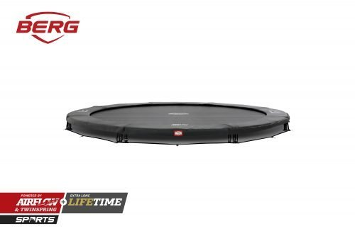 BERG InGround Champion Trampoline - Grey
